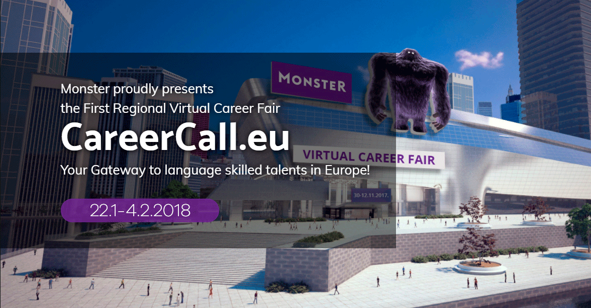 Looking to hire to Hungary, Poland or Czech Republic? The first regional virtual career fair, CareerCall.eu will take place on 22.1-4.2.2018